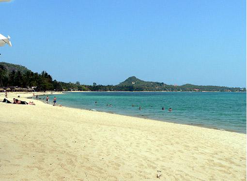 Таиланд - пляж на острове Самуи - фото