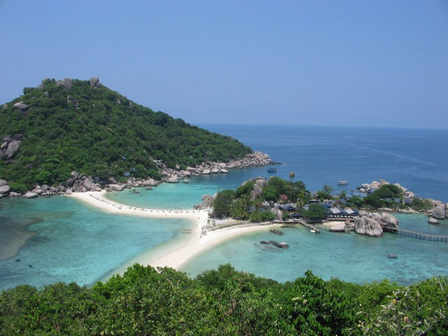 Остров Кох Тао - пляж Koh Nang Yuan - Таиланд