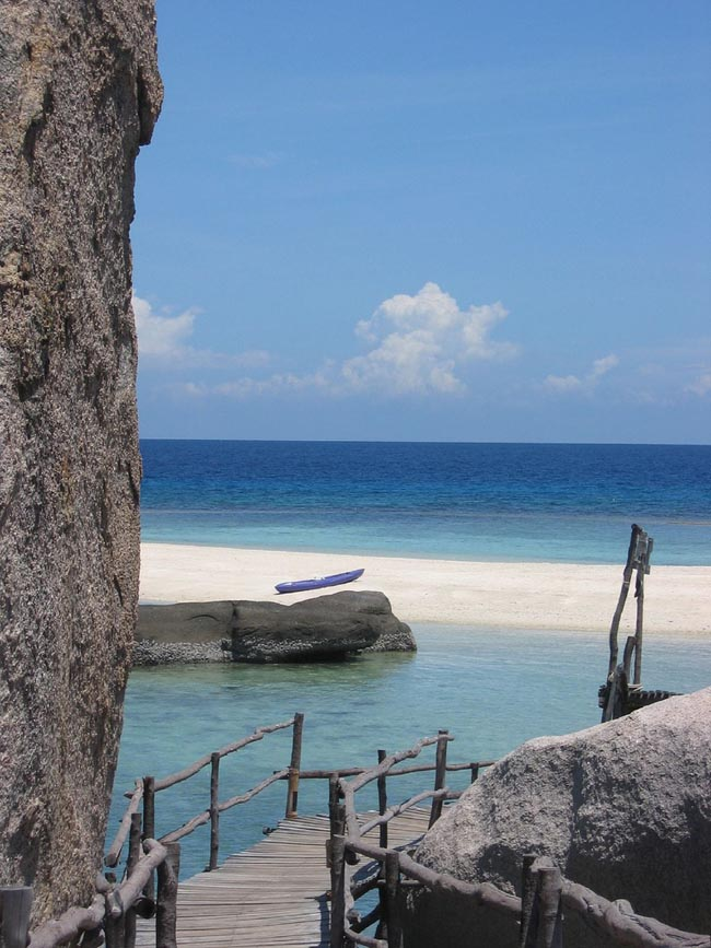 Таиланд Остров Кох Тао - пляж Koh Nang Yuan
