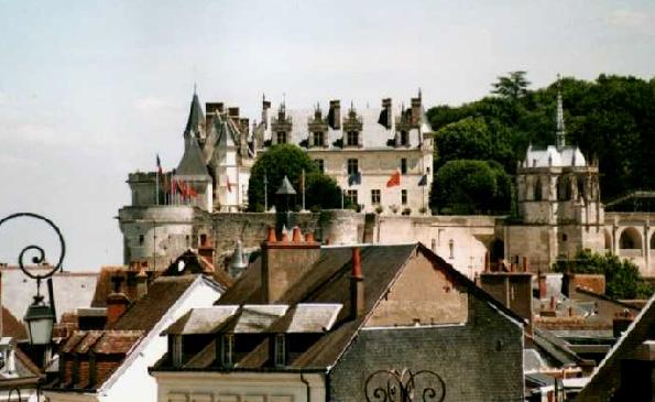 Франция - Замок Амбуаз - Замки Луары