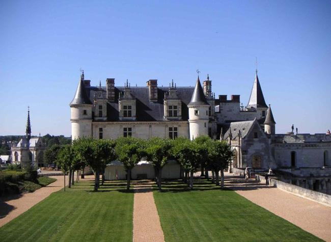 Франция - Замки Луары - Амбуаз
