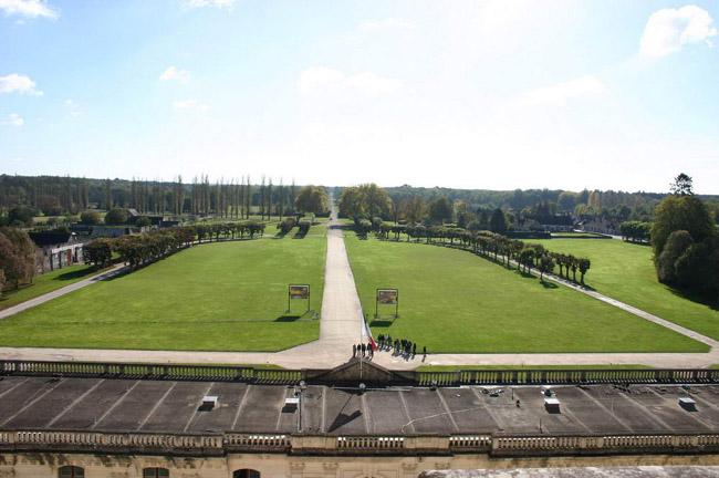 Шамбор - замок Луары - Франция - фото poplo.kiev.ua