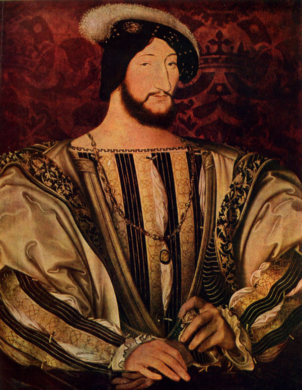 Франциск I - основоположник музея в Лувре - Лувр