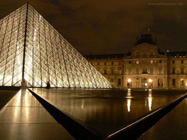Лувр - фото - Париж