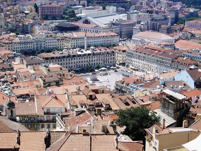 Лиссабон - Plaza de Rossio - фото города