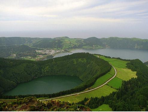 Азорские острова - фото побережья