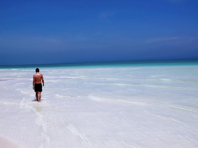 Куба - пляж Pilar Beach - фото