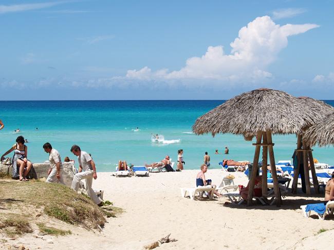 Куба - пляж Варадеро - фото