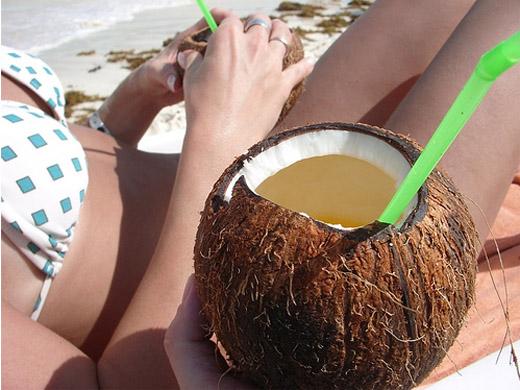 Куба - Кайо Коко - напитки - фото