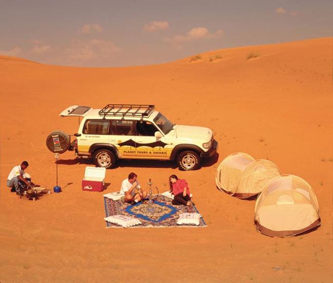 Сафари в ОАЭ - фото