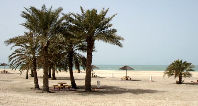 Sharjah Corniche - пляж в ОАЭ - фото
