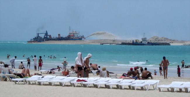 Пляж - Jumeira Beach ОАЭ - фото