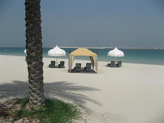 Пляж Дубаи - ОАЭ - фото