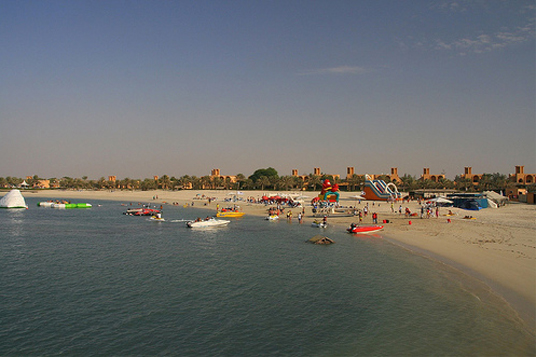 Al Jazira Beach - пляж - ОАЭ - фото