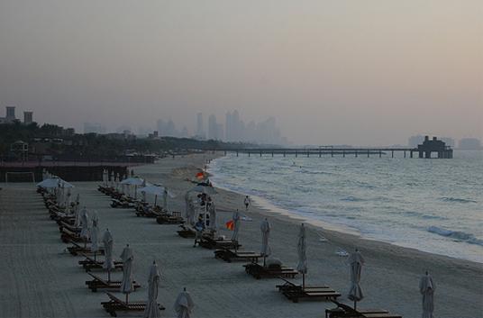 Пляж Джумейра - ОАЭ - фото