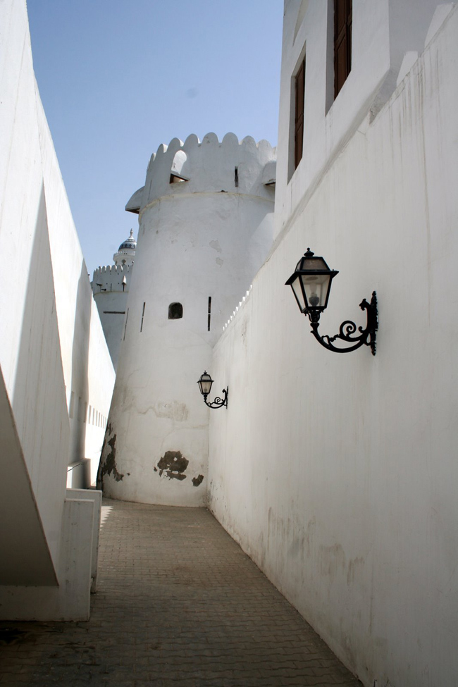 Старый форт Аль-Хусн - фото