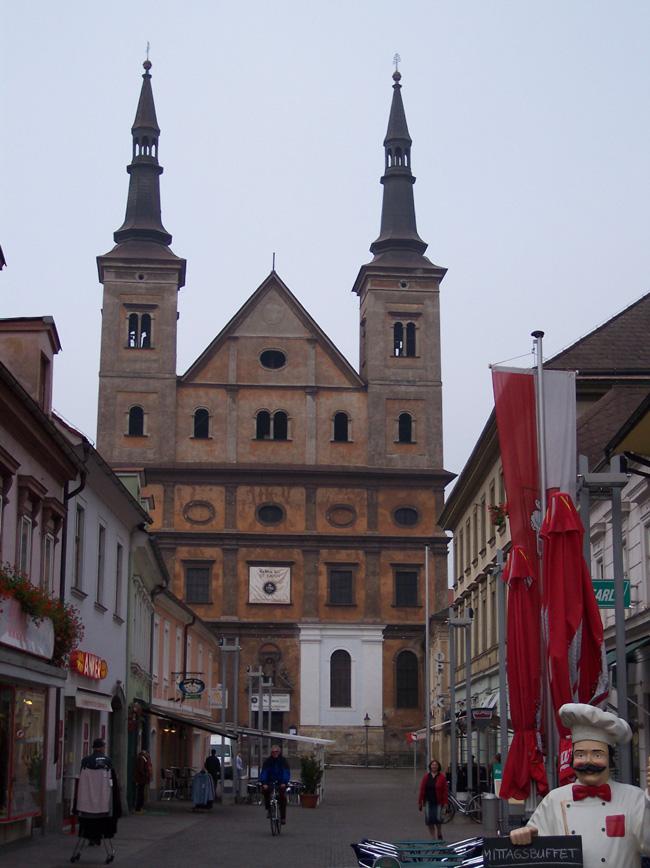 Австрия - Леобен - Leoben - город в Австрии