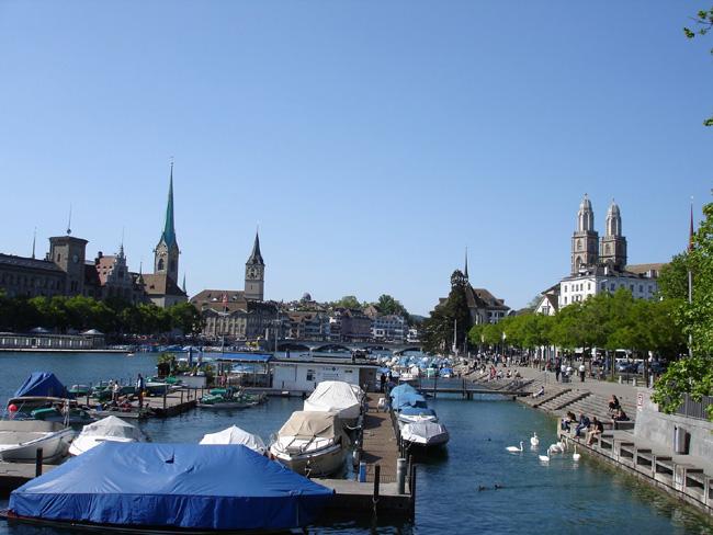 Цюрих - Церковь Св. Петра - фото travel-rest.blogspot.com