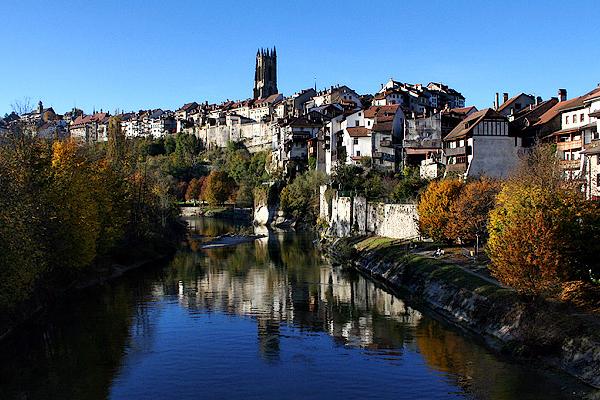 Фрайбург - Швейцария - фото