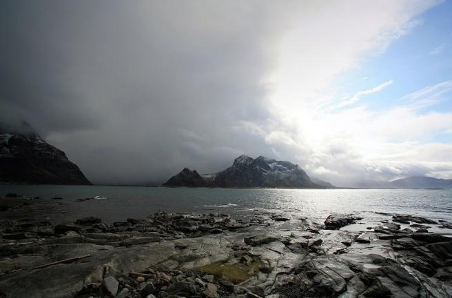 Лофотены в Норвегии - фьорды
