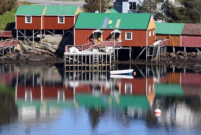 Норвежские фьорды - природа - картинки
