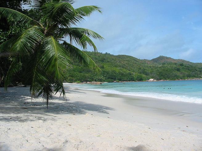Остров Праслин - природный заповедник