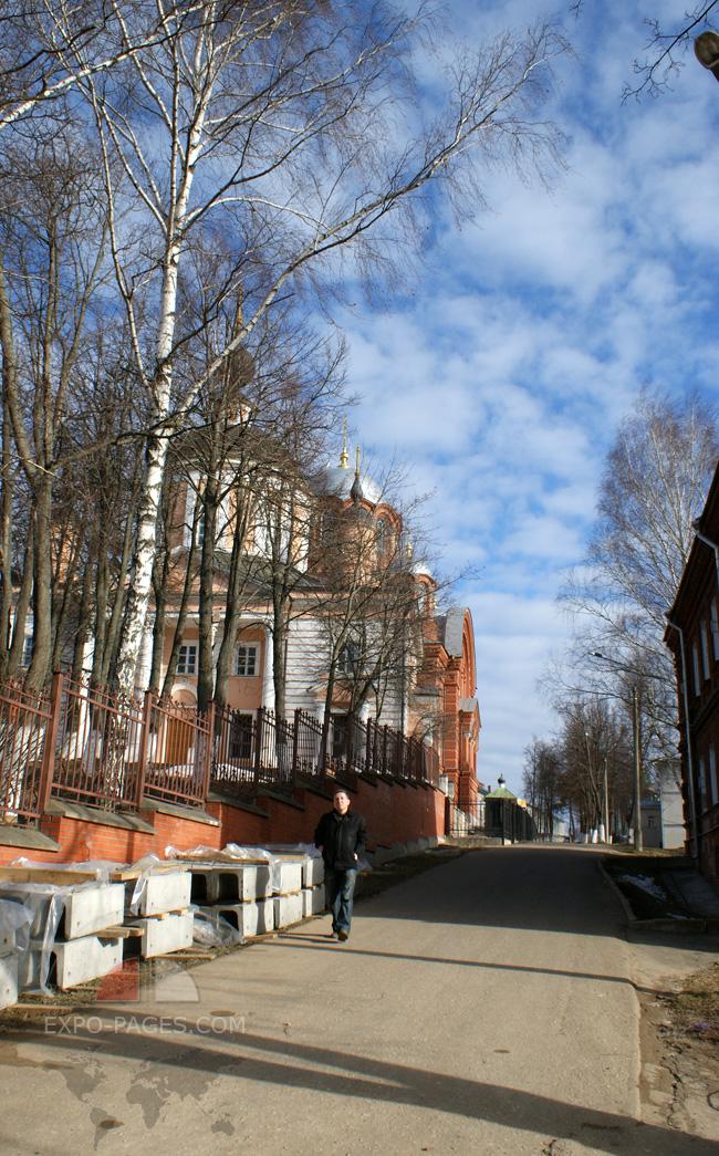 Родители Сергия Радонежского - мощи в монастыре в Хотьково