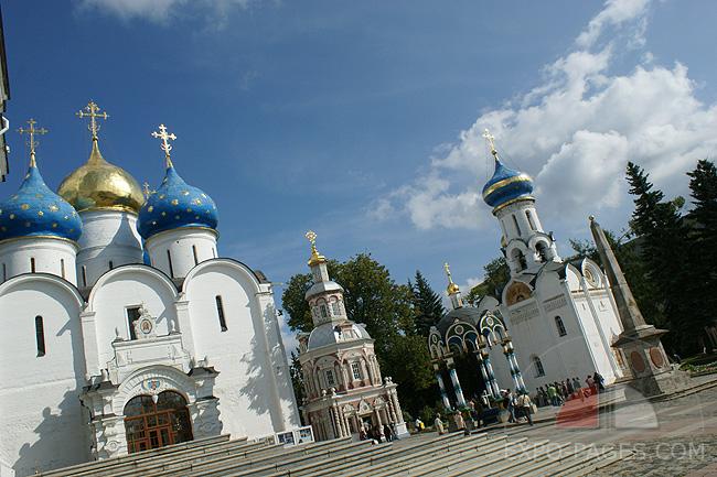 Успенский собор - Свято-Троицкая Сергиева Лавра