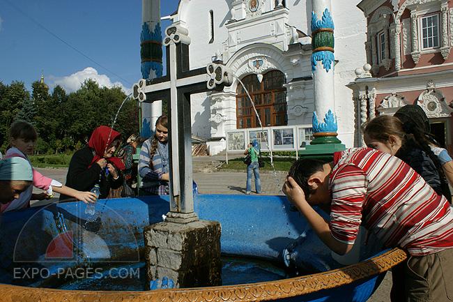 Купальня со святой водой - Свято-Троицкая Сергиева Лавра