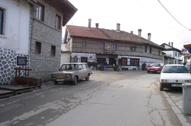 Банско, курорт Болгарии, фото