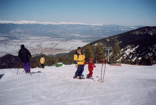 Банско, горнолыжный курорт Болгарии, фото