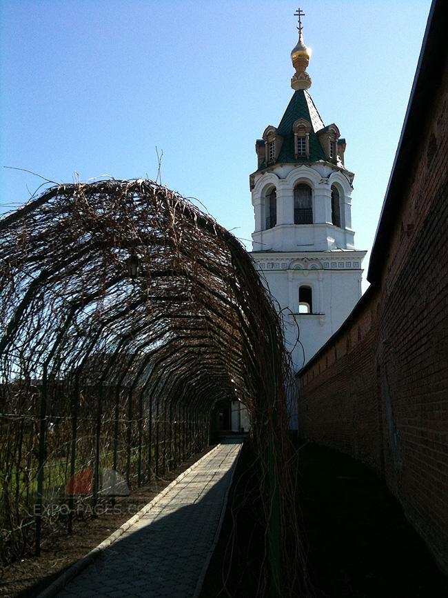 Зимненский монастырь - территория - фото