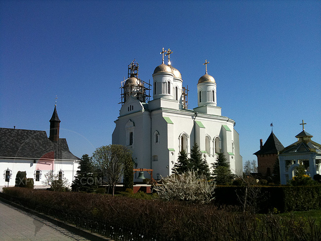 Успенский собор - Успенская церковь - Зимненский монастырь
