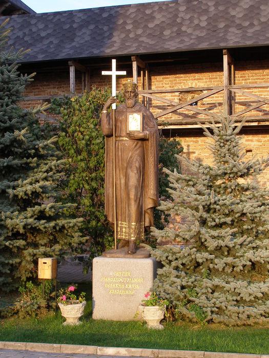 Князь Владимир - основатель Зимно-Святогорского монастыря