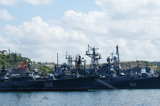 Севастополь - фото военных кораблей