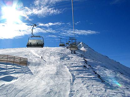 Банско, фото горнолыжного курорта, подъемник