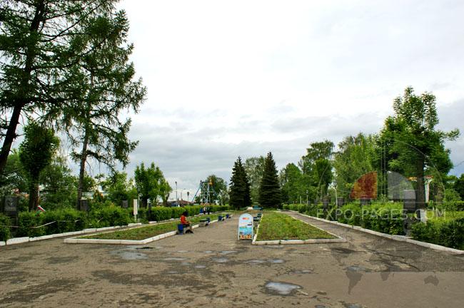 Муром - парк с аттракционами - фото