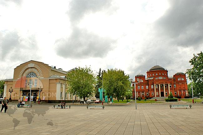 Площадь Победы - фото центра Мурома