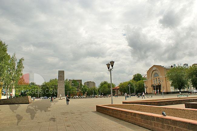 Муром - центр города - площадь Победы