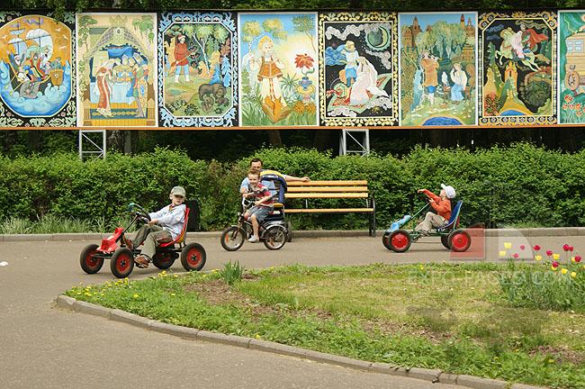 Муром - парк центральный - фотографии