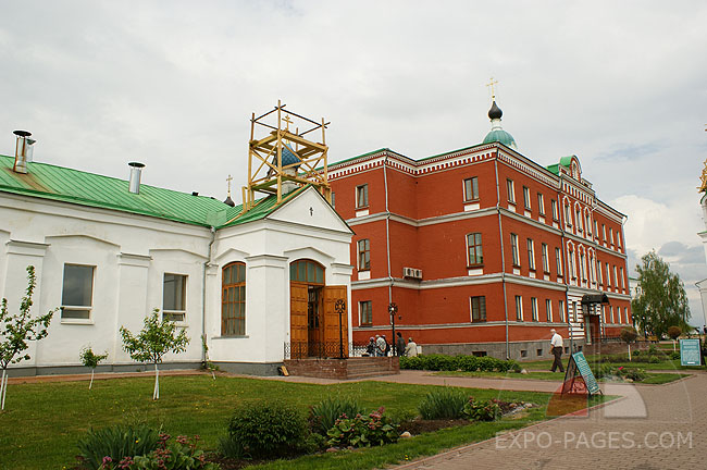 Мужской монастырь города Мурома
