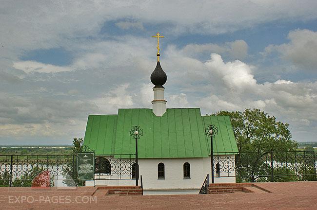 Храм Преподобного Сергия Радонежского - можно позвонить в звоницы храма
