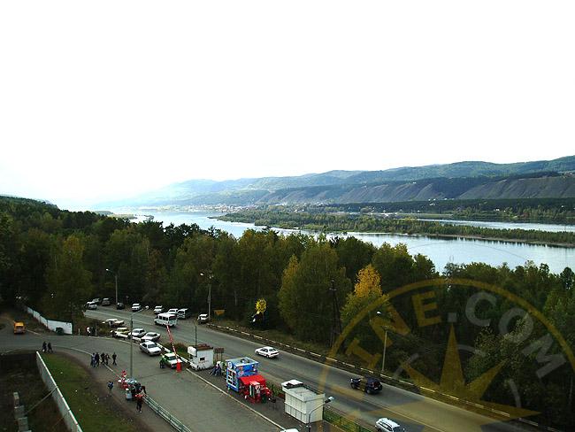 Красноярск - река Енисей - фото