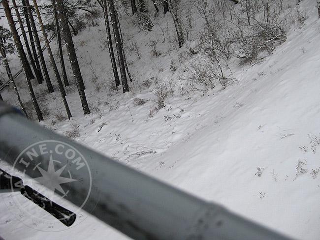 С Дивногорска, Новосибирска, со всей Сибири приезжают сюда покататься на лыжах
