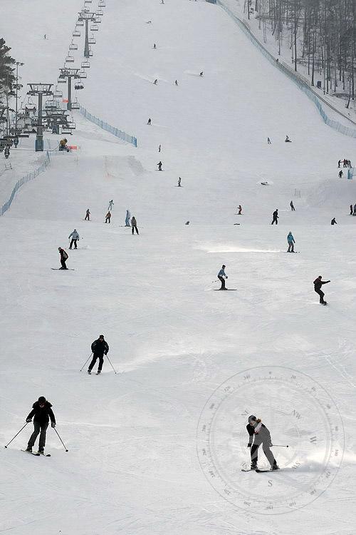 Красноярск - отдых зимой - развлечения