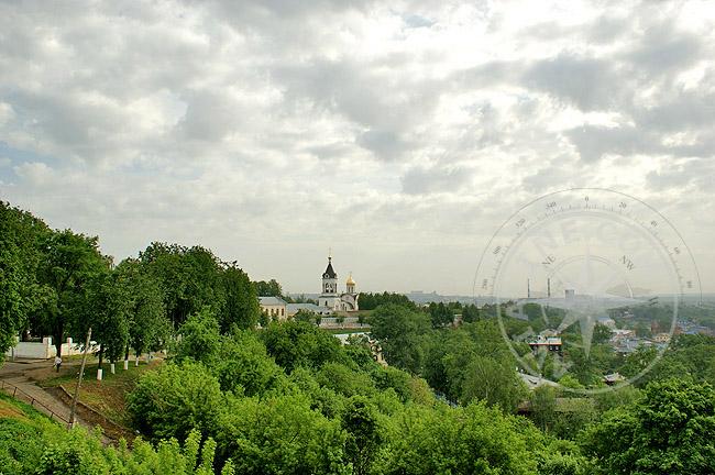 Владимир - Рождественский монастырь из далека