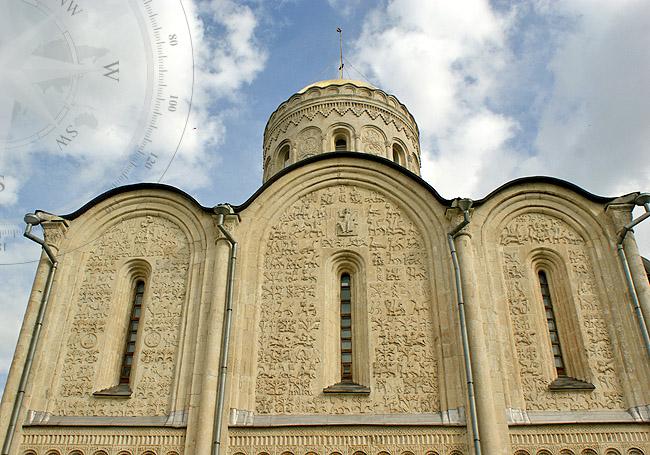Купол Дмитриевского собора