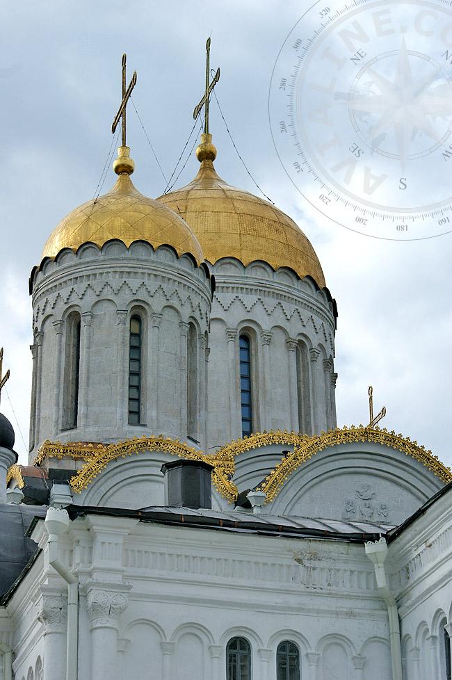 Купола Успенского собора - фото