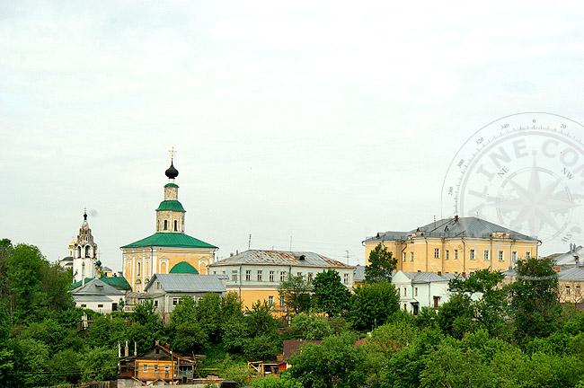 Церкви и храмы Золотого кольца