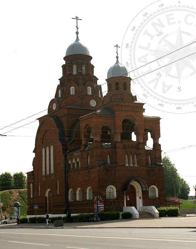 Троицкая церковь и Музей хрусталя